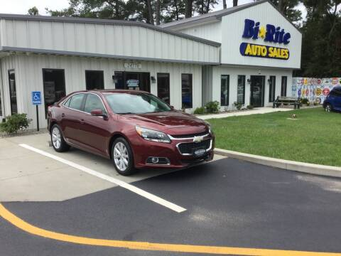 2015 Chevrolet Malibu for sale at Bi Rite Auto Sales in Seaford DE