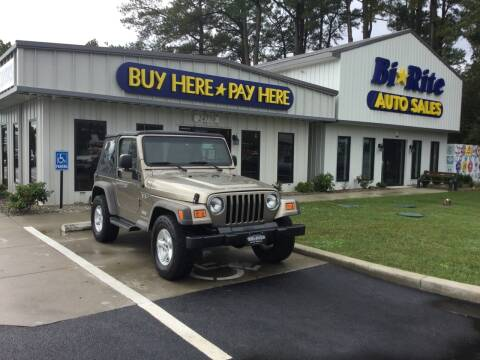 2005 Jeep Wrangler for sale at Bi Rite Auto Sales in Seaford DE
