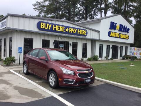 2015 Chevrolet Cruze for sale at Bi Rite Auto Sales in Seaford DE