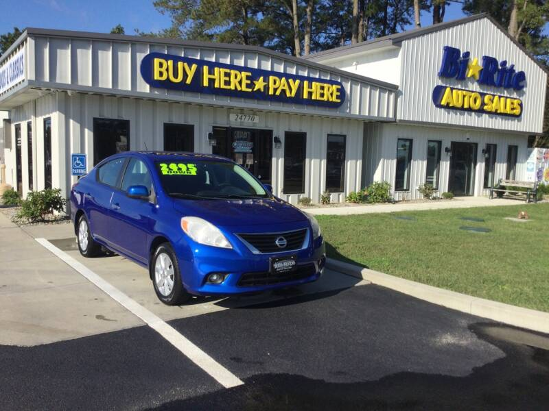 2013 Nissan Versa for sale at Bi Rite Auto Sales in Seaford DE