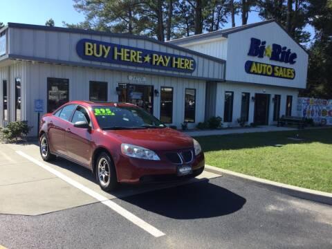 2009 Pontiac G6 for sale at Bi Rite Auto Sales in Seaford DE