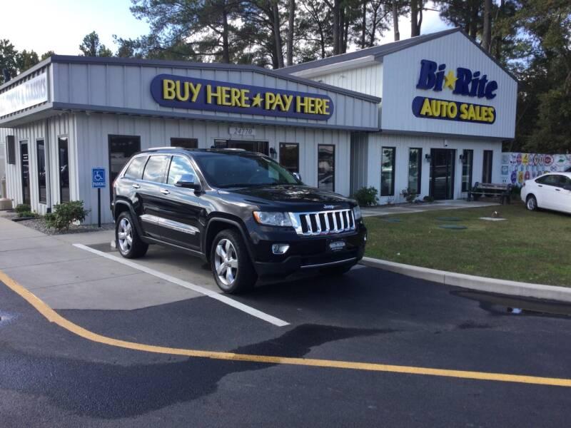 2013 Jeep Grand Cherokee for sale at Bi Rite Auto Sales in Seaford DE