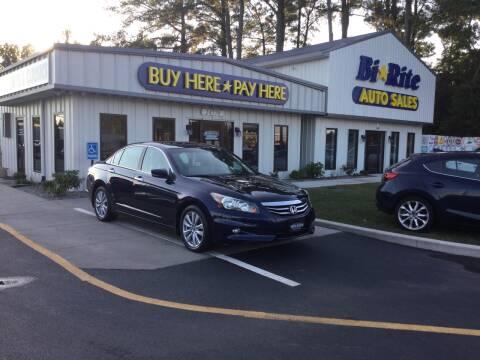 2011 Honda Accord for sale at Bi Rite Auto Sales in Seaford DE