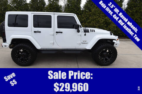 2016 Jeep Wrangler Unlimited Sahara for sale at Lighthouse Automotive in Morton IL