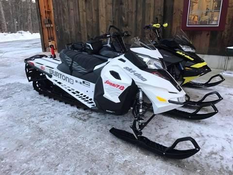 2016 Ski Doo 800 ETEC 154 Summit Burton Ed