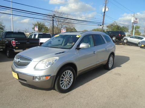2009 Buick Enclave for sale at BAS MOTORS in Houston TX