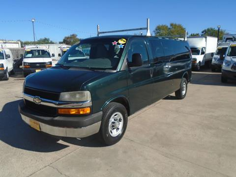 2013 Chevrolet Express Passenger for sale at BAS MOTORS in Houston TX