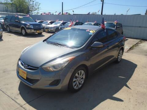 2012 Hyundai Elantra for sale at BAS MOTORS in Houston TX