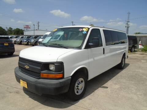 2014 Chevrolet Express Passenger for sale at BAS MOTORS in Houston TX