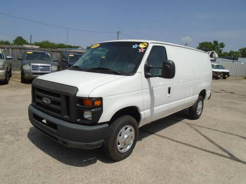 2014 Ford E-Series Cargo for sale at BAS MOTORS in Houston TX
