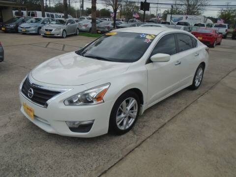 2013 Nissan Altima for sale at BAS MOTORS in Houston TX