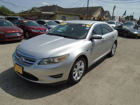 2010 Ford Taurus for sale at BAS MOTORS in Houston TX