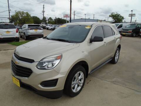 2016 Chevrolet Equinox for sale at BAS MOTORS in Houston TX
