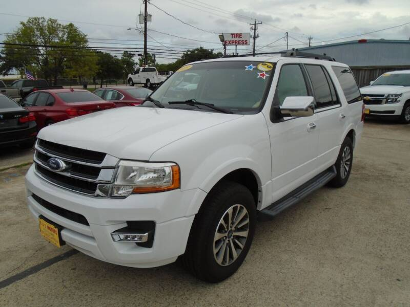 2015 Ford Expedition for sale at BAS MOTORS in Houston TX