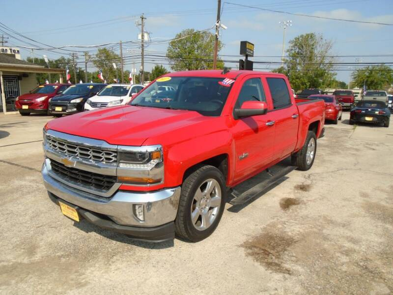 2017 Chevrolet Silverado 1500 for sale at BAS MOTORS in Houston TX
