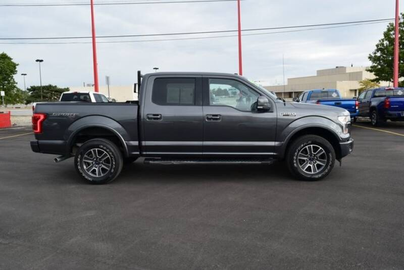 2017 Ford F-150 4x4 Lariat 4dr SuperCrew 5.5 ft. SB - Indianapolis IN
