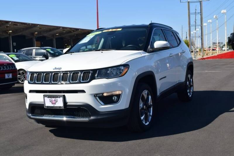 2017 Jeep Compass 4x4 Limited 4dr SUV (midyear release) - Indianapolis IN