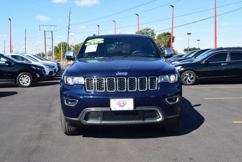 2017 Jeep Grand Cherokee 4x4 Limited 4dr SUV - Indianapolis IN