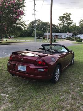 2002 Mitsubishi Eclipse Spyder for sale in Fayetteville, NC