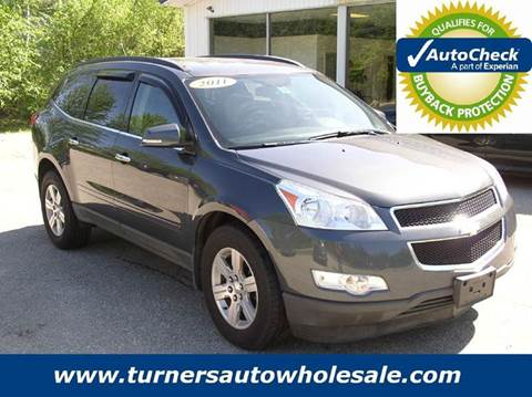 2011 Chevrolet Traverse for sale at Turner's Auto Wholesale in Exeter NH