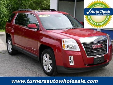 2014 GMC Terrain for sale at Turner's Auto Wholesale in Exeter NH