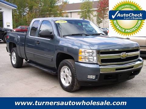 2009 Chevrolet Silverado 1500 for sale at Turner's Auto Wholesale in Exeter NH