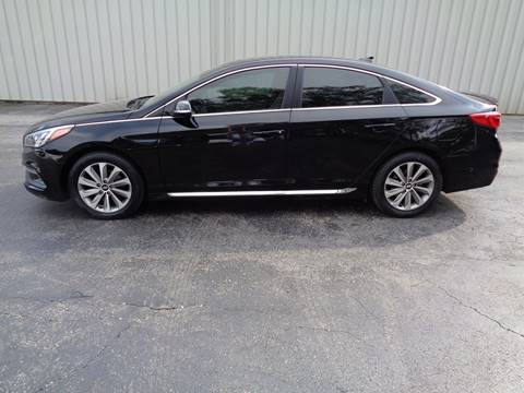 2017 Hyundai Sonata for sale in Lansing, KS