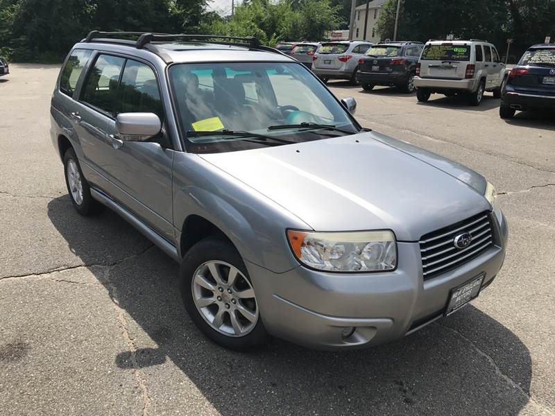 2008 subaru forester awd 2 5 x premium package 4dr wagon 4a in leominster ma new england. Black Bedroom Furniture Sets. Home Design Ideas
