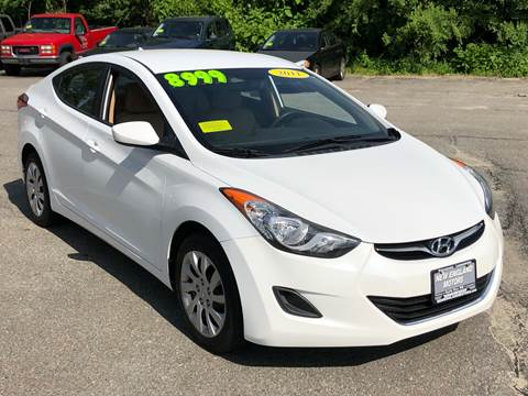 2011 Hyundai Elantra for sale in Leominster, MA