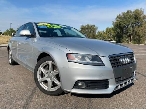 2009 Audi A4 for sale at UNITED Automotive in Denver CO