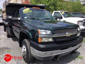 2003 Chevrolet Silverado 3500 for sale in Framingham, MA