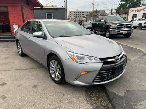 2017 Toyota Camry for sale at Mass Auto Exchange in Framingham MA