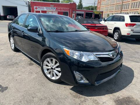2013 Toyota Camry for sale at Mass Auto Exchange in Framingham MA