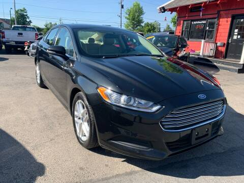 2015 Ford Fusion for sale at Mass Auto Exchange in Framingham MA
