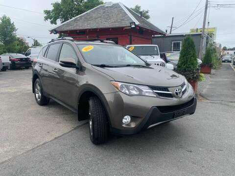 2015 Toyota RAV4 for sale at Mass Auto Exchange in Framingham MA