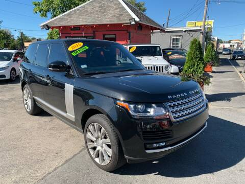 2015 Land Rover Range Rover for sale at Mass Auto Exchange in Framingham MA