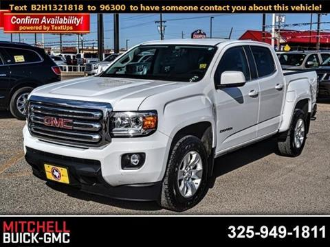 2017 GMC Canyon for sale in San Angelo, TX
