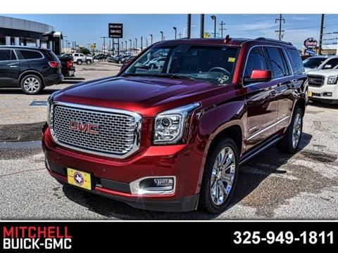 2016 GMC Yukon for sale in San Angelo, TX