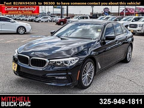 2018 BMW 5 Series for sale in San Angelo, TX