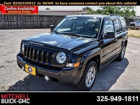 2016 Jeep Patriot for sale in San Angelo, TX