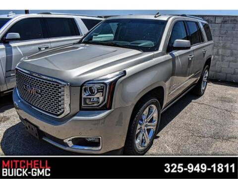 2017 GMC Yukon Denali for sale at Mitchell Buick Pontiac GMC in San Angelo TX