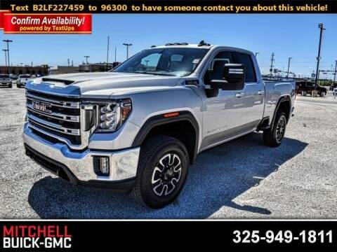 2020 GMC Sierra 2500HD for sale at Mitchell Buick Pontiac GMC in San Angelo TX
