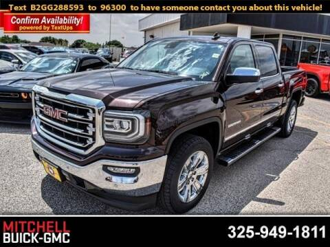 2016 GMC Sierra 1500 for sale at Mitchell Buick Pontiac GMC in San Angelo TX