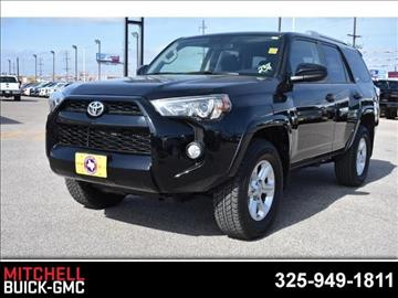 2016 Toyota 4Runner for sale in San Angelo, TX