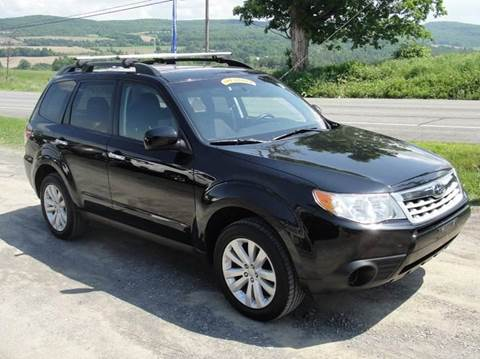 2011 Subaru Forester for sale at Turnpike Auto Sales LLC in East Springfield NY