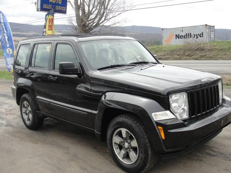 2008 Jeep Liberty for sale at Turnpike Auto Sales LLC in East Springfield NY