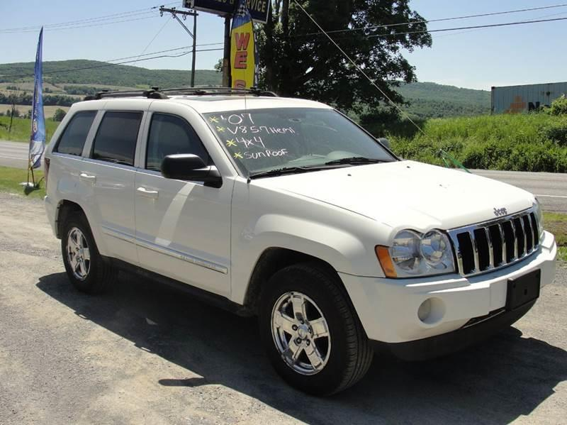 2007 Jeep Grand Cherokee for sale at Turnpike Auto Sales LLC in East Springfield NY