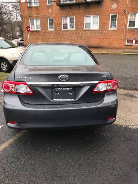 2012 Toyota Corolla For Sale At Magnum Auto Sales In Irvington NJ