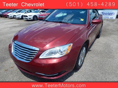 2013 chrysler 200 convertible for sale for Teeter motor co used car division malvern ar