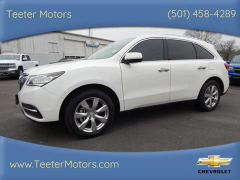 2016 Acura MDX for sale in Malvern, AR